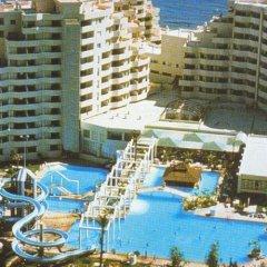 Отель Apartamentos Benal Beach бассейн