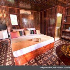 Отель Palm Beach Inn and Sea Shells Cabanas Шри-Ланка, Бентота - отзывы, цены и фото номеров - забронировать отель Palm Beach Inn and Sea Shells Cabanas онлайн комната для гостей фото 4