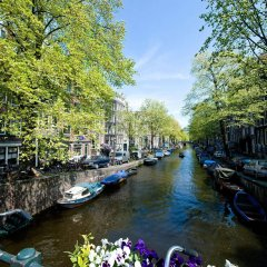 Отель Westcord City Centre Амстердам приотельная территория