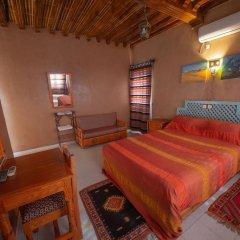 Отель Zaghro Марокко, Уарзазат - отзывы, цены и фото номеров - забронировать отель Zaghro онлайн комната для гостей фото 3