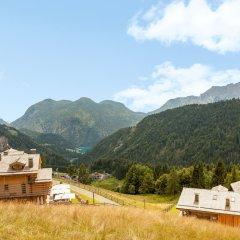 Hotel The Originals Borgo Eibn Mountain Lodge (ex Relais du Silence) Саурис приотельная территория