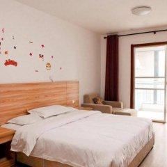 Отель Xiaoqi Yizhan Xi'an Dayanta Xinlvcheng Китай, Сиань - отзывы, цены и фото номеров - забронировать отель Xiaoqi Yizhan Xi'an Dayanta Xinlvcheng онлайн комната для гостей фото 3