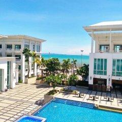 Отель D Varee Jomtien Beach Таиланд, Паттайя - 5 отзывов об отеле, цены и фото номеров - забронировать отель D Varee Jomtien Beach онлайн бассейн фото 3
