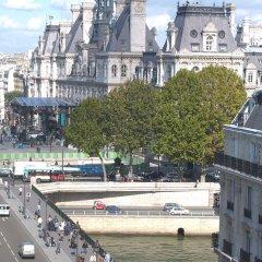 Отель Hôtel Hospitel Париж приотельная территория фото 2