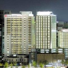 Отель Ramada Hotel and Suites Seoul Namdaemun Южная Корея, Сеул - 1 отзыв об отеле, цены и фото номеров - забронировать отель Ramada Hotel and Suites Seoul Namdaemun онлайн фитнесс-зал