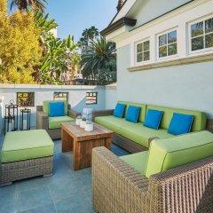 Fairmont Miramar Hotel & Bungalows Санта-Моника балкон