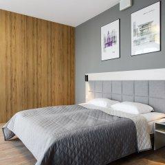 Отель Апарт-отель City Comfort Польша, Варшава - 8 отзывов об отеле, цены и фото номеров - забронировать отель Апарт-отель City Comfort онлайн комната для гостей фото 5