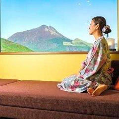 Отель Asagirinomieru Yado Yufuin Hanayoshi Хидзи фото 12