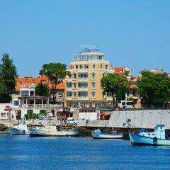 Отель Paros Болгария, Поморие - отзывы, цены и фото номеров - забронировать отель Paros онлайн приотельная территория фото 2
