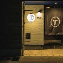 Отель Trip Pod Sumiyoshi B Хаката сейф в номере