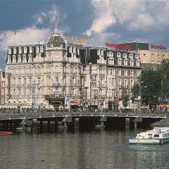 Отель Park Plaza Victoria Amsterdam Нидерланды, Амстердам - 2 отзыва об отеле, цены и фото номеров - забронировать отель Park Plaza Victoria Amsterdam онлайн приотельная территория фото 2