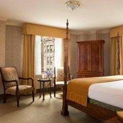 Отель The Roosevelt Hotel, New York City США, Нью-Йорк - 9 отзывов об отеле, цены и фото номеров - забронировать отель The Roosevelt Hotel, New York City онлайн комната для гостей фото 4