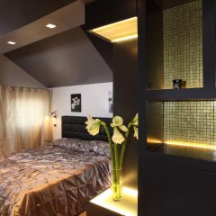 Hotel Condotti 3* Стандартный номер с двуспальной кроватью фото 21