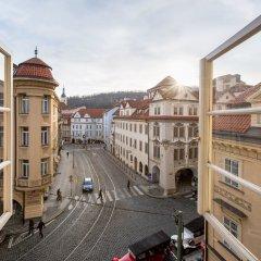 Отель The Nicholas Hotel Residence Чехия, Прага - отзывы, цены и фото номеров - забронировать отель The Nicholas Hotel Residence онлайн балкон