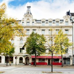 Elite Hotel Stockholm Plaza Стокгольм парковка