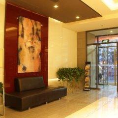 Отель Jinjiang Inn (Xi'an Wujiao Subway Station Airport Bus) Китай, Сиань - отзывы, цены и фото номеров - забронировать отель Jinjiang Inn (Xi'an Wujiao Subway Station Airport Bus) онлайн интерьер отеля фото 2