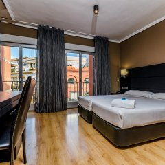 Отель Virgen de los Reyes Испания, Севилья - 2 отзыва об отеле, цены и фото номеров - забронировать отель Virgen de los Reyes онлайн комната для гостей фото 4