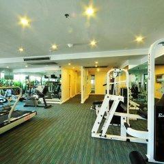 Отель Centre Point Pratunam фитнесс-зал