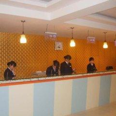 Отель Hejia Inn Beijing Anwai интерьер отеля