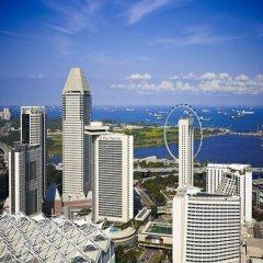 Отель Pan Pacific Singapore пляж