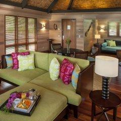 Отель The St Regis Bora Bora Resort Французская Полинезия, Бора-Бора - отзывы, цены и фото номеров - забронировать отель The St Regis Bora Bora Resort онлайн комната для гостей фото 2