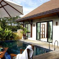 Отель Two Villas Holiday Oriental Style Layan Beach Таиланд, пляж Банг-Тао - отзывы, цены и фото номеров - забронировать отель Two Villas Holiday Oriental Style Layan Beach онлайн бассейн фото 3