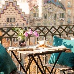 Отель Godo Luxury Apartment Passeig De Gracia Испания, Барселона - отзывы, цены и фото номеров - забронировать отель Godo Luxury Apartment Passeig De Gracia онлайн балкон