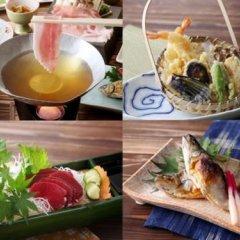 Hotel Shirakawa Yunokura Никко питание фото 3