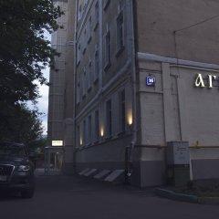 Мини-Отель Агиос на Курской Москва вид на фасад фото 4