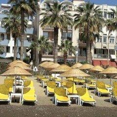 Candan Beach Hotel Мармарис пляж