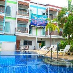 Отель Vik House Паттайя бассейн фото 2