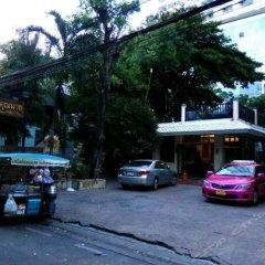 Отель Baan Khun Nine Паттайя парковка