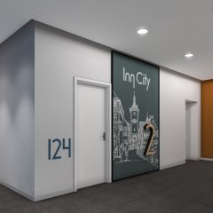 InnCity Hotel by Picnic фитнесс-зал
