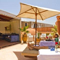 Отель Dar Anika Марокко, Марракеш - отзывы, цены и фото номеров - забронировать отель Dar Anika онлайн бассейн фото 2