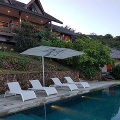 Отель Villa Manatea - Moorea Французская Полинезия, Папеэте - отзывы, цены и фото номеров - забронировать отель Villa Manatea - Moorea онлайн бассейн
