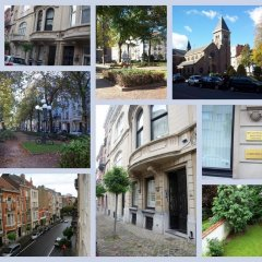 Апартаменты Apartment First Class Bouilliot Брюссель гостиничный бар