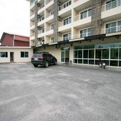 Отель Delight Residence Pattaya парковка