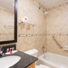 Отель Days Inn by Wyndham Washington DC/Connecticut Avenue США, Вашингтон - отзывы, цены и фото номеров - забронировать отель Days Inn by Wyndham Washington DC/Connecticut Avenue онлайн ванная