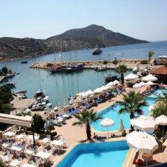 Pirat Турция, Калкан - отзывы, цены и фото номеров - забронировать отель Pirat онлайн балкон