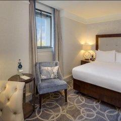 Hilton Glasgow Grosvenor Hotel 4* Стандартный номер с разными типами кроватей