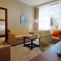Гостиница Marriott Novy Arbat Москва комната для гостей фото 3