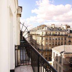 Отель Hôtel Marignan балкон