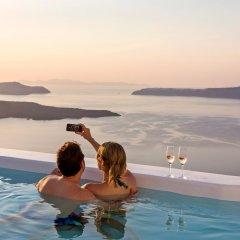 Отель Alti Santorini Suites Греция, Остров Санторини - отзывы, цены и фото номеров - забронировать отель Alti Santorini Suites онлайн бассейн фото 3