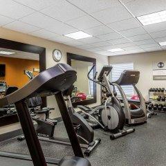 Отель Clarion Inn Chattanooga США, Чаттануга - отзывы, цены и фото номеров - забронировать отель Clarion Inn Chattanooga онлайн фитнесс-зал фото 2