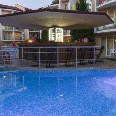 Отель Sun City Hotel Болгария, Солнечный берег - отзывы, цены и фото номеров - забронировать отель Sun City Hotel онлайн бассейн фото 3