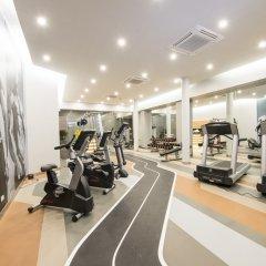 Отель Crest Resort & Pool Villas фитнесс-зал фото 2