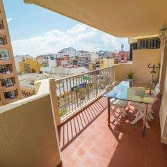 Отель Edicicio Sol Playa   5 Pax   First Line   3652-AW Испания, Фуэнхирола - отзывы, цены и фото номеров - забронировать отель Edicicio Sol Playa   5 Pax   First Line   3652-AW онлайн балкон