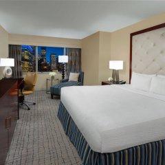Отель Crowne Plaza Times Square Manhattan США, Нью-Йорк - отзывы, цены и фото номеров - забронировать отель Crowne Plaza Times Square Manhattan онлайн комната для гостей фото 4