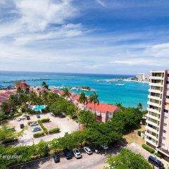 Апартаменты Sky Blue Beach Studio at Turtle Towers пляж фото 2