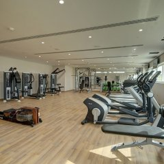Al Khoory Atrium Hotel фитнесс-зал фото 3